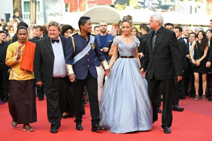 Jermaine Jackson with Velazquez Maday and Richard Nilsson