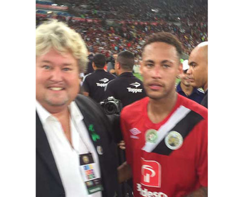 Richard Nilsson and Neymar